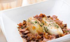 Receta de Endibias guisadas con jamón cocido