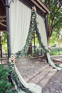36 Romantic Drapery Wedding Decorations Ideas