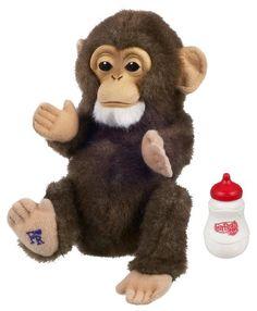 FurReal Newborn Chimpanzee Fur Real Friends http://www.amazon.com/dp/B002VECEPM/ref=cm_sw_r_pi_dp_ZsFIub1YB1JYH