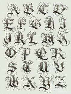 Old english font