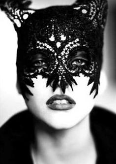 "fashion+masquerade+masks+models+women | Mask,"" Paris, 1991, from Ellen Von Unwerth's show at… (Ellen Von ..."