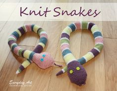 Sammy the Snake | AllFreeKnitting.com