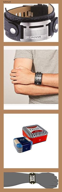 Fossil Herren Armband Fossil Logoplatte - 14hd