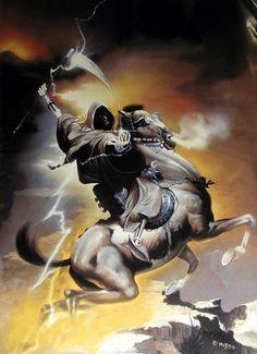 Talisman of Death cover art by Peter Andrew Jones.