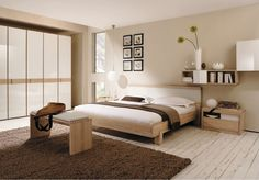 Simple Elegant Bedroom Design With an exquisite Simple Elegant Bedroom Design, there's a room for everyone. Looking for inspiration on methods to enhance a Simple Elegant Bedroom Design? Put together to be overwhelmed with fantastic ideas Cozy Bedroom Design, Interior Design Bedroom, Bedroom Paint Colors, Bedroom Paint Colors Master, Bedroom Color Schemes, Bedroom Colors, Japanese Bedroom, Bedroom Wall Colors, Modern Bedroom