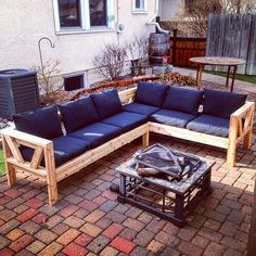 Outdoor Sectional! #simonmiller85 #ryobination #anawhite #outdoorsectional
