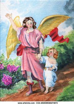 Gifs religiosos: Angel de la Guarda