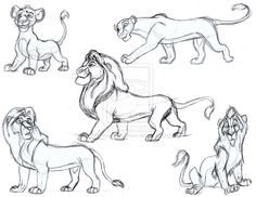 lion_king_sketches_in_pen_by_animator_who_draws-d5n2wwa.jpg (1017×786)