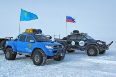 Iceland Truck | Two Arctic Trucks AT44 Expedition vehicles have set a new Guinness ...