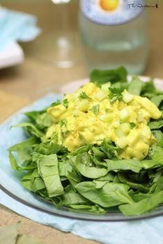 Raw egg salad recipe | The Rawtarian