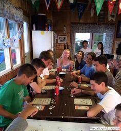 2014-08-01 BINGO Night, photographed by Jen Lannan during the Northport Junior Yacht Club's BINGO Night this past Tuesday.