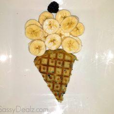 Fun & Creative Banana Breakfast Ideas For Kids - Sassy Dealz Healthy Breakfast For Kids, Healthy Kids, Breakfast Ideas, Healthy Snacks, Breakfast Recipes, Ice Cream Waffle Cone, Banana Ice Cream, Banana Bundt Cake, Cake Mix Ingredients