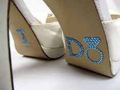 I do shoe stickers!