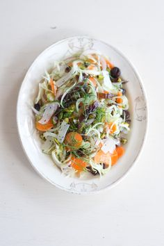 Shaved Fennel & Date Salad | QUITOKEETO