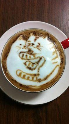 Cats Latte Art