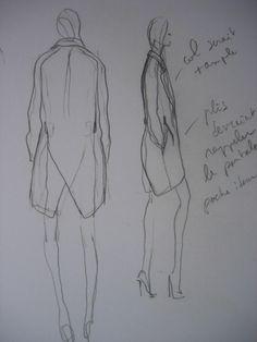 Olivier Theyskens Nina Ricci Sketch