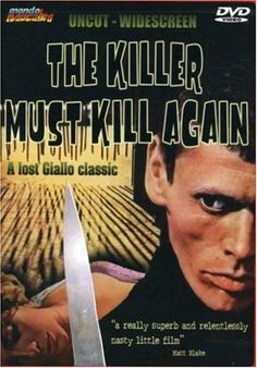 The Killer Must Kill Again (Luigi Cozzi, 1974, A. K. A. The Spider)