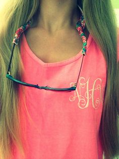 Monogrammed Comfort Colors Coverup Tank by WilkesMonograms on Etsy, $15.00 -- any font BUT FISHTALE
