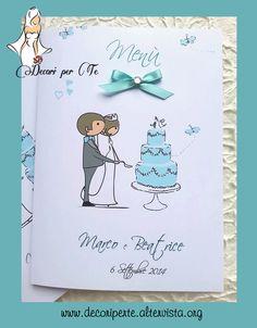 MENU' TIFFANY Tiffany Wedding Menu'