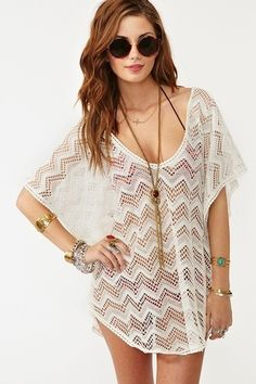 Cute bathing suit cover up by alicia.chubb.5