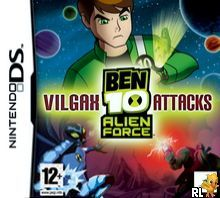 Ben 10 Alien Force Vilgax Attacks Eu M5 Bahamut Box Art