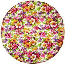 Chintz Plate - DuBarry by James Kent