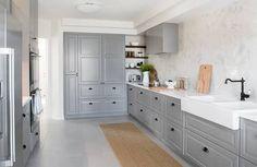 ikea bodbyn kitchen grey - Google Search