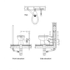 Pressure relief valve cad drawing mechanical cad blocks toilet pipe connections ccuart Images