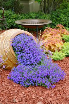 What a good idea for garden. Looks Beautiful !!! | Outdoor Areas / L