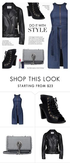 """""""Do It With Style : Leather Jacket"""" by novalikarida ❤ liked on Polyvore featuring Acne Studios"""