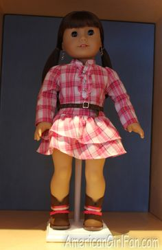All About American Girl, For American Girl Fans Everywhere! Girl Doll Clothes, Girl Dolls, Rodeo Time, Western Outfits, Daughters, American Girl, Harajuku, Inspiration, Accessories