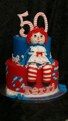 Sweet Confections Cakes an Award winning Specialty, Birthday and Wedding cake bakery creating custom cakes located in Harrisburg, serving Camp Hill, Hershey, Mechanicsburg and all of Central Pa Wedding Cake Bakery, Wedding Cakes, Celebration Cakes, Birthday Celebration, Raggedy Ann And Andy, Cake Decorating Tips, Custom Cakes, Erika, Birthday Cakes