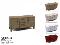 wondymoon's Rhodium Dresser