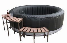 Wicker surround spa furniture