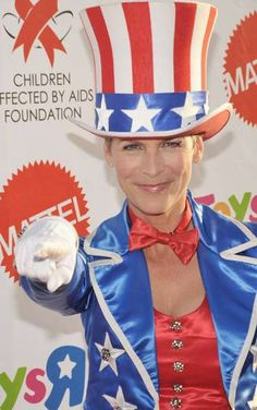 A-Listers Dress Up for AIDS #patriotic trendhunter.com
