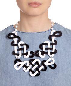 Knot Garden Statement Necklace