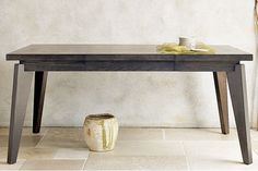 Angled-Leg Expandable Dining Table from West Elm