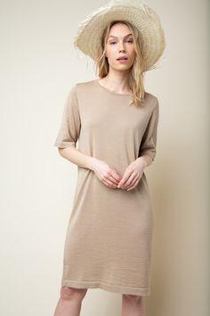 Alpaca Wool, Wool Dress, Silk, Summer, Dresses, Vestidos, Summer Time, Dress, Gown