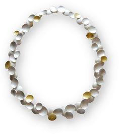 Petal Necklace Gold Silver