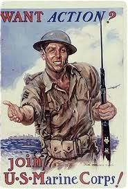 World War 2 Poster teaching propaganda