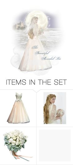 """The Beautiful Annabel Lee"" by kbarkstyle ❤ liked on Polyvore featuring art"