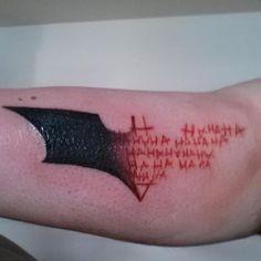 http://tattoomagz.com/adorable-black-batman-tattoos/red-symbol-of-batman-tattoo/