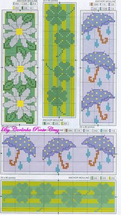 umbrella bookmark