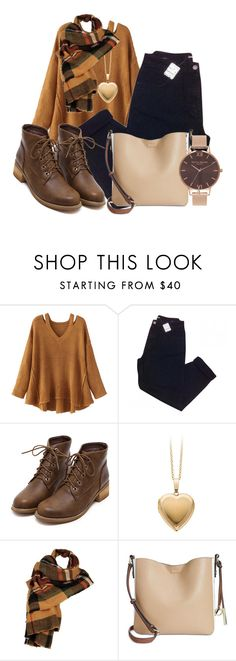"""""""Sin título #817"""" by lululafitte on Polyvore featuring moda, WithChic, Urban Outfitters, Wilsons Leather, Calvin Klein y Olivia Burton"""