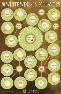 Learn About Wine: 11 Easy WIne Charts for Visual Reference