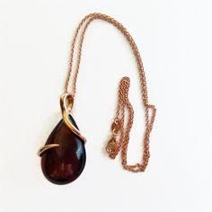 Antiqued Filigree 925 Sterling Silver Slider Bracelet With Cognac Baltic Amber Cabochon