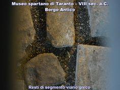 Ecco il museo spartano nel borgo antico della Taranto spartana. Salento, Puglia