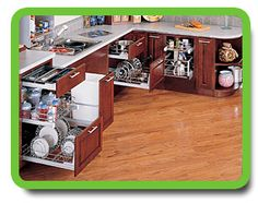 Accessible Kitchens for disabled, elderly and handicap residents