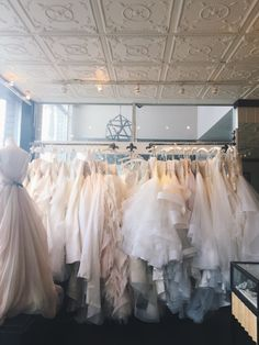 One day, into this fitting room, I will try on my dreamy dress..... sweetheart