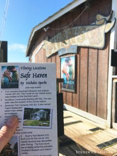 When in Southport be sure to scout out the many locations used for filming in productions like the movie Safe Haven and TV show Under the Dome. Brochures are available at the Ft. Johnston - Southport Museum and Welcome Center.